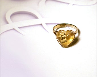 143 Ring - I Love You - 354 Ring - Ich Liebe Dich - First Valentine Jewelry for Teen Girl