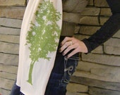 Tree Scarf in Cream