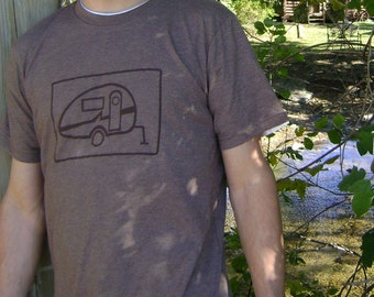 s, m, l, xl, xxl  - Mens Camper Tee in Brown