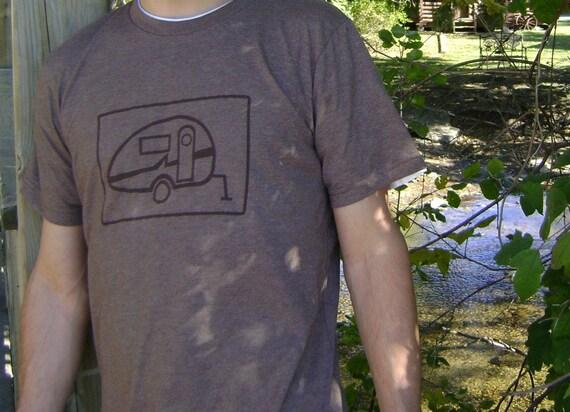 S, M , L, XL, XXL  - Mens Camper Tee in Brown