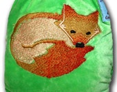 Foxy - Small OBV BedBug Night Time Cloth Diaper