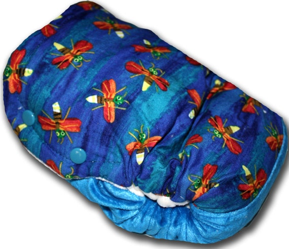 Very Lonely Firely - Toddler OBV BedBug Night Time Cloth Diaper