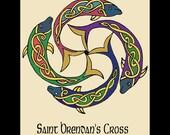 Celtic Art St Brendans Cross