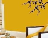 Japanese Cherry Blossom Tree Branch Vinyl Decal Home Decor