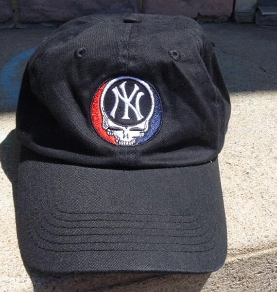 your new york yankees grateful dead style baseball cap