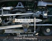 Challenger Steam Train Wheels Photograph