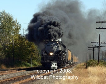 Steam Train The Challenger Photograph