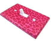 Handmade Light Switch Cover Hot Pink Cheetah Spots Leopard Print Leopard Pattern Girls Bedroom Decor Switchplate Switch Plate