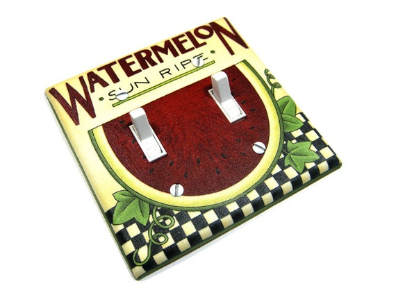 watermelon kitchen decoration light switch by