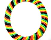 Rasta colors Bangle by Kibera Jewelry