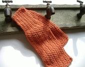 Hand Crocheted Pumpkin Bathroom Sink Mat