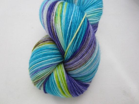 Silver Moon Yarn - Fancy Irises