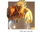 Polymer clay tutorial - Angel
