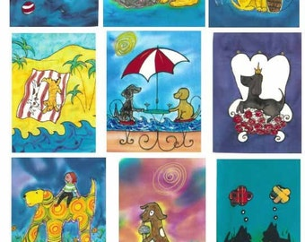 Dog Cards - Boxed Set of 10 Assorted Cards