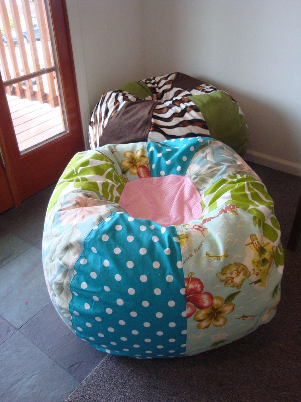 Hawaiian Style Beach Surf Bean Bag Chair Available Now