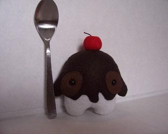 Kids Toys plush Stuffed Ice Cream AlienVanilla Gelatomin