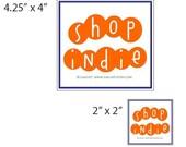 Shop Indie 2 x 2 in. magnet