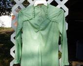 Lovely Lime Green Polyester Dress