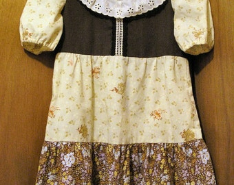 OOAK Young Child's Dress handmade