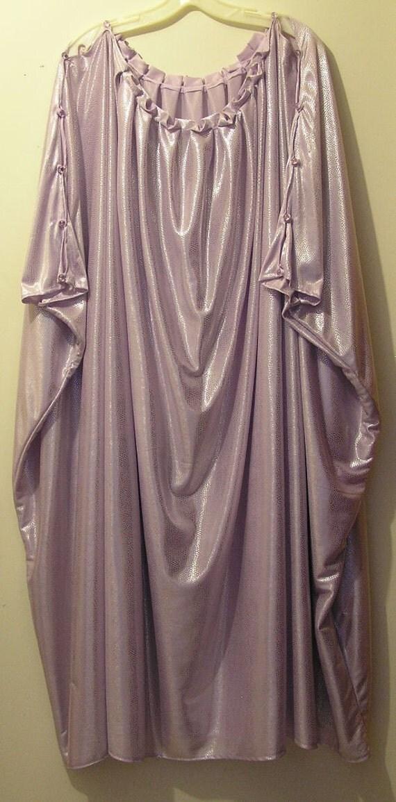 Greek Chiton Costume Lavender Shimmery