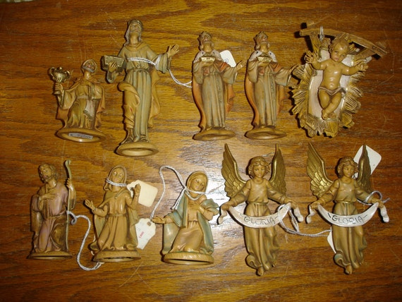 11 Fontanini Nativity Pieces Made in Italy