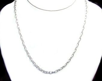 18 inch sterling silver chain