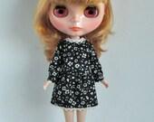Beyer dress black-for Blythe