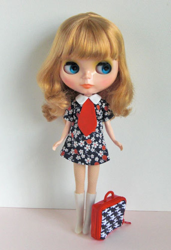 Cherry shirts dress-for Blythe