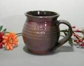 Volcanic Ash and Pink Coffee Mug