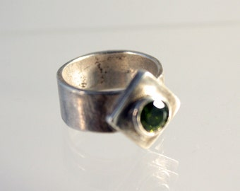 Metal clay (Fine silver) ring