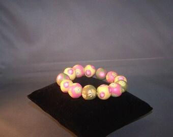 Large Beaded bracelet