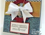 Peaceful Christmas Joyous New Year Handmade Card