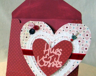 Heart Shaped Valentine Card