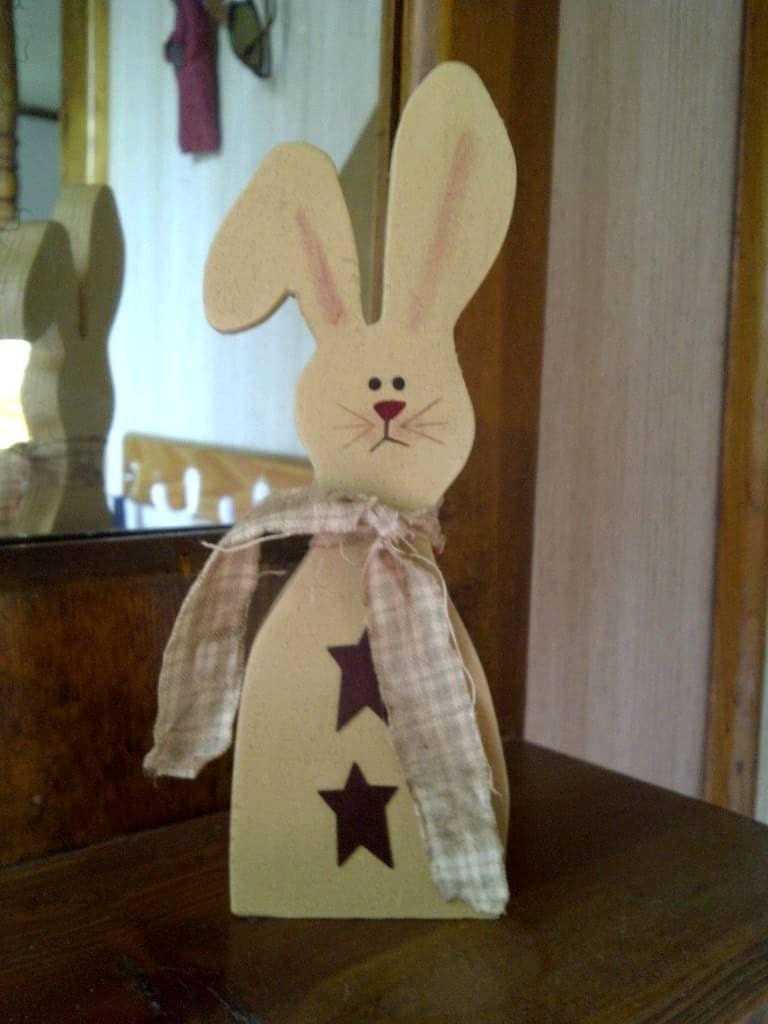 Wooden Bunnies Diy Wood Crafts