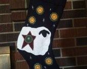 WoolFelt Sheep Penny Stocking with Personalization Option