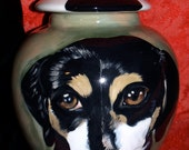Custom PET URN for dogs and cats MEDIUM