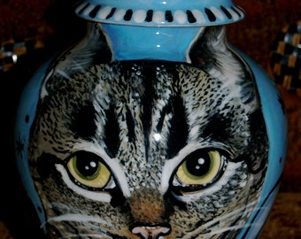 2 Custom medium PET URNs for cats SMALL custom order