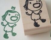princess ethel - rubber stamp