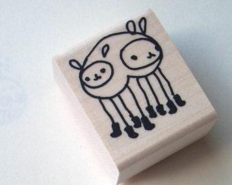 leveller - rubber stamp