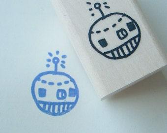 robo-bot - rubber stamp