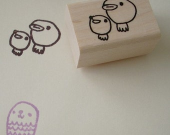 his nibs - rubber stamp