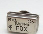 Man Geek Foxy Oscillator Tie Tack or Pin ONLY THREE LEFT