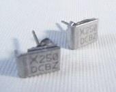 Geek Studs Computer Part Earrings