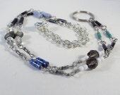 Custom Geek Lanyard  Badge or Eye Glass Leash -  Resistors and Beads