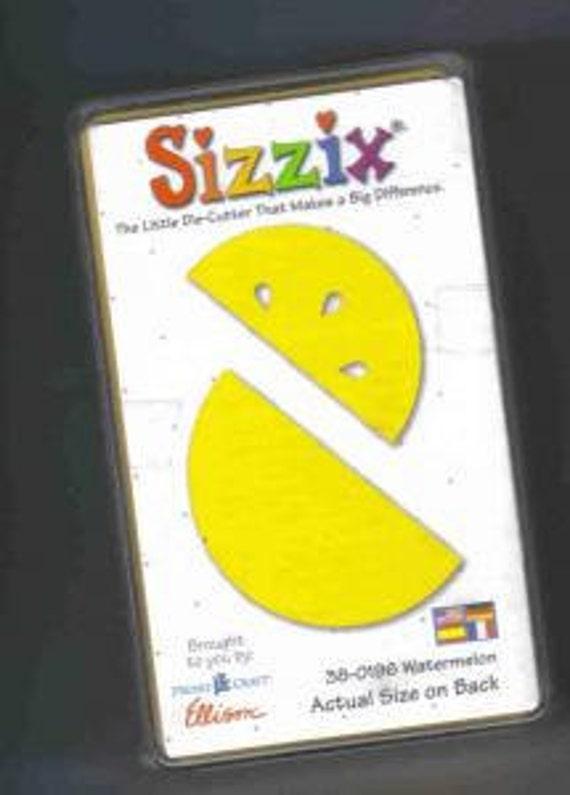 Sizzix Original die 38-0196 Watermelon Retired