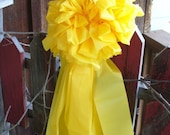 Support Our Troops Bows / 2 Giant and 1 Big Yellow Bows