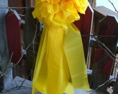 Giant Yellow Bow Support Our Troops