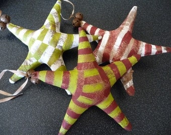 Primitive Stars with Candy Cane Stripes
