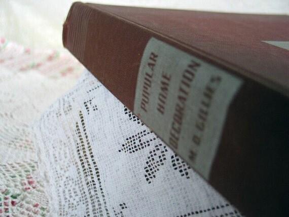 Vintage Decorating Book