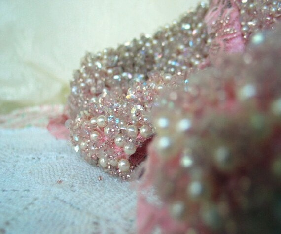 Vintage Beaded Gown Rescued